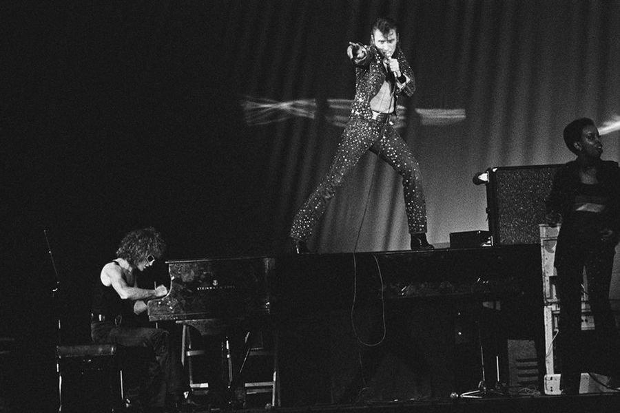 Johnny-avec-Michel-Polnareff-au-Palais-des-Sports-de-Paris-septembre-1971