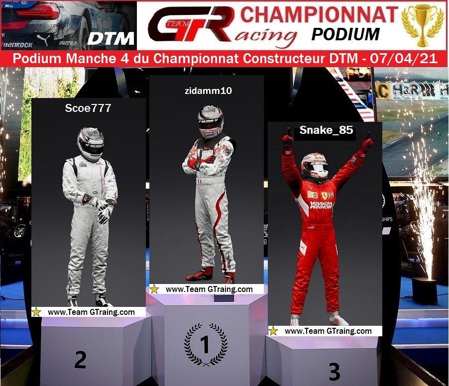 Résultat Manche 4 du Championnat Constructeur DTM - 07/04/2021 210409084410241563