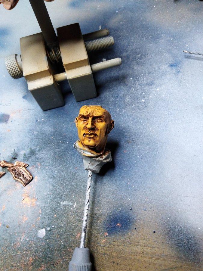 Visage romain Young Miniature