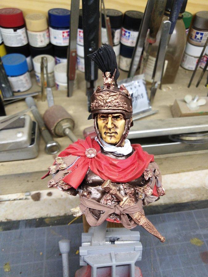 Officier romain Young Miniature