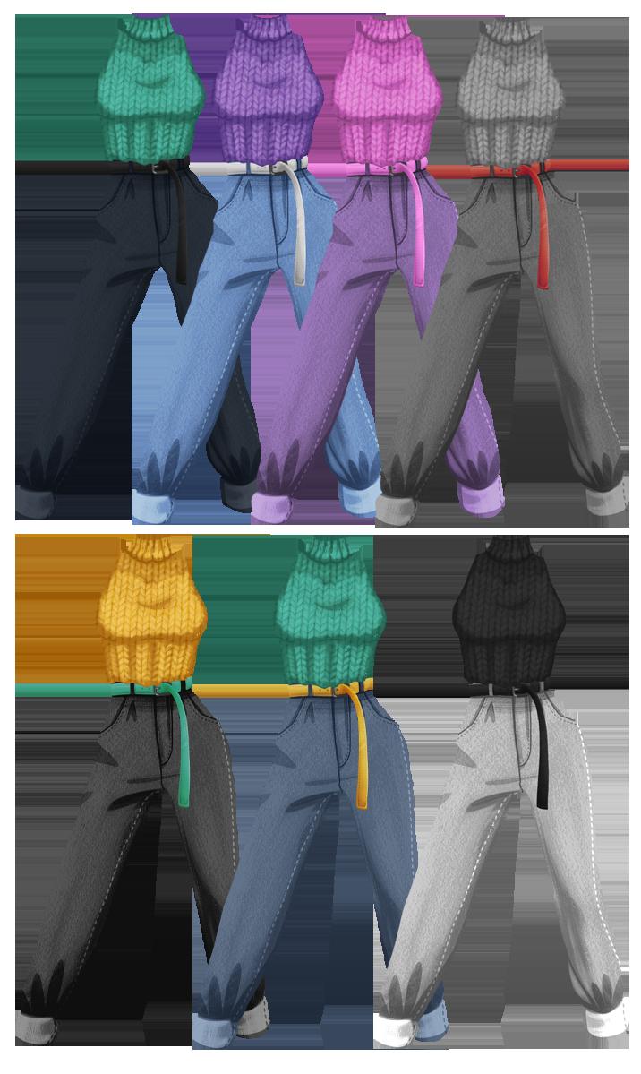 tenues colories