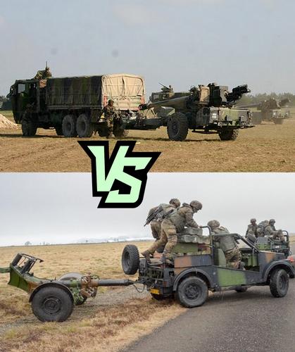 Comparatif des artilleries révolutionnaires et impériales.