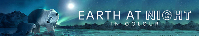 Poster for Earth at Night in Color