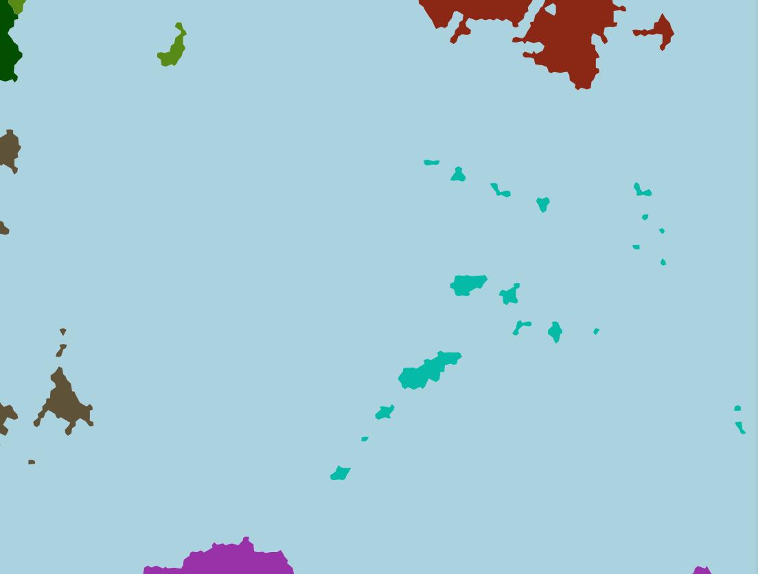 Zone polynésienne