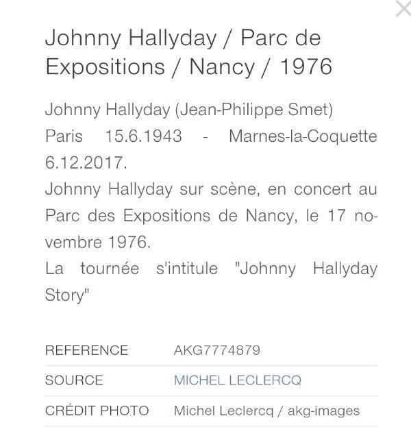 LES CONCERTS DE JOHNNY 'NANCY 1976' 210423113612335217