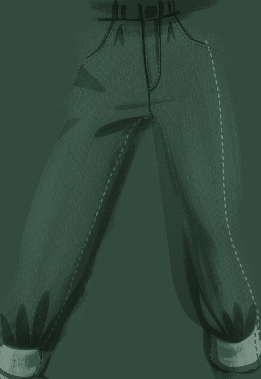 pantalon vert