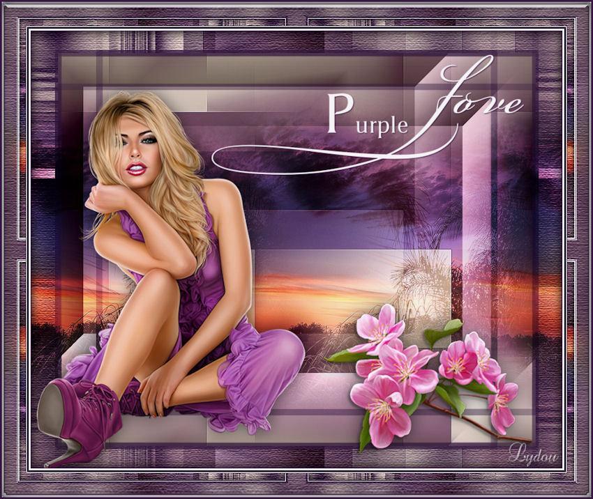 Purple in love 210426022054502737
