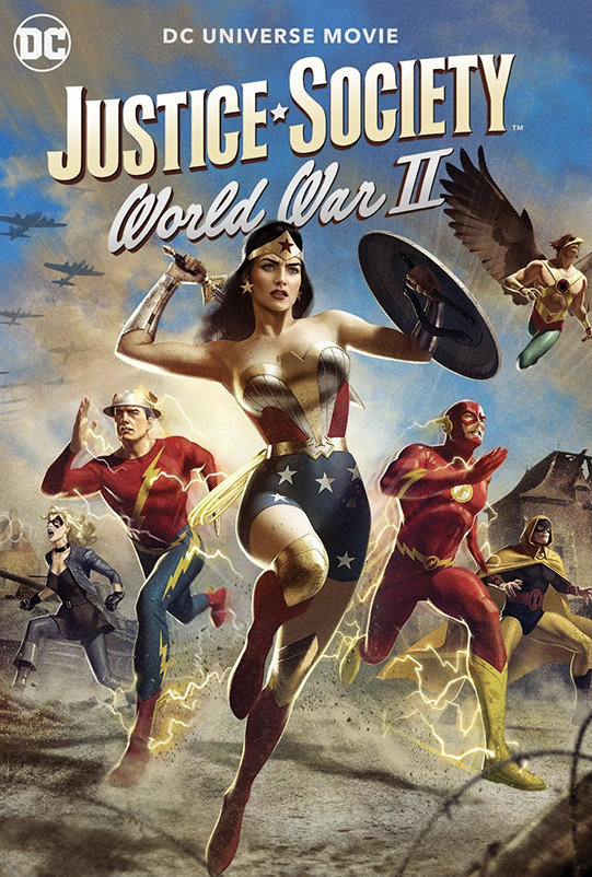 Justice Society: World War II (2021) poster image
