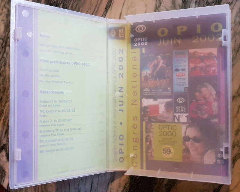 Pour la rubrique Vidéographie (VHS) du site  210428100614713435