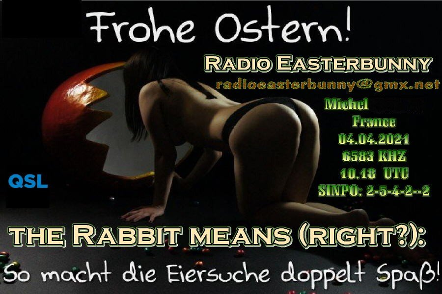 eQSL de Radio Easter Bunny 210501064457866850