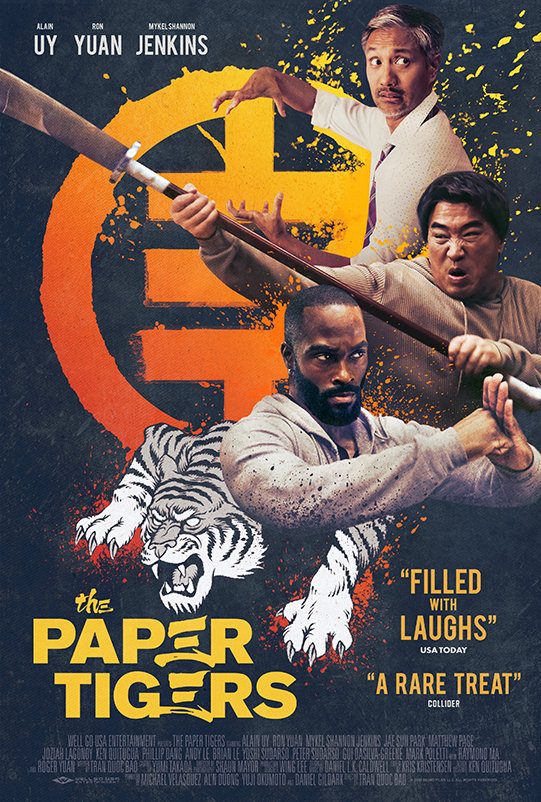The Paper Tigers (2020) poster image