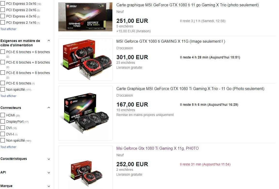 ebay 1080 arnaque