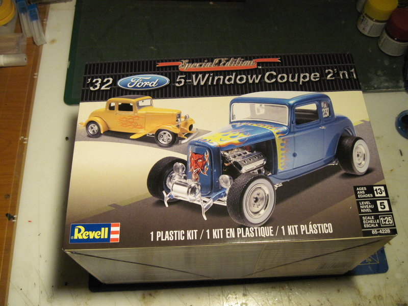 Ford 32 hot rod Revell 1/25 210512102354797632