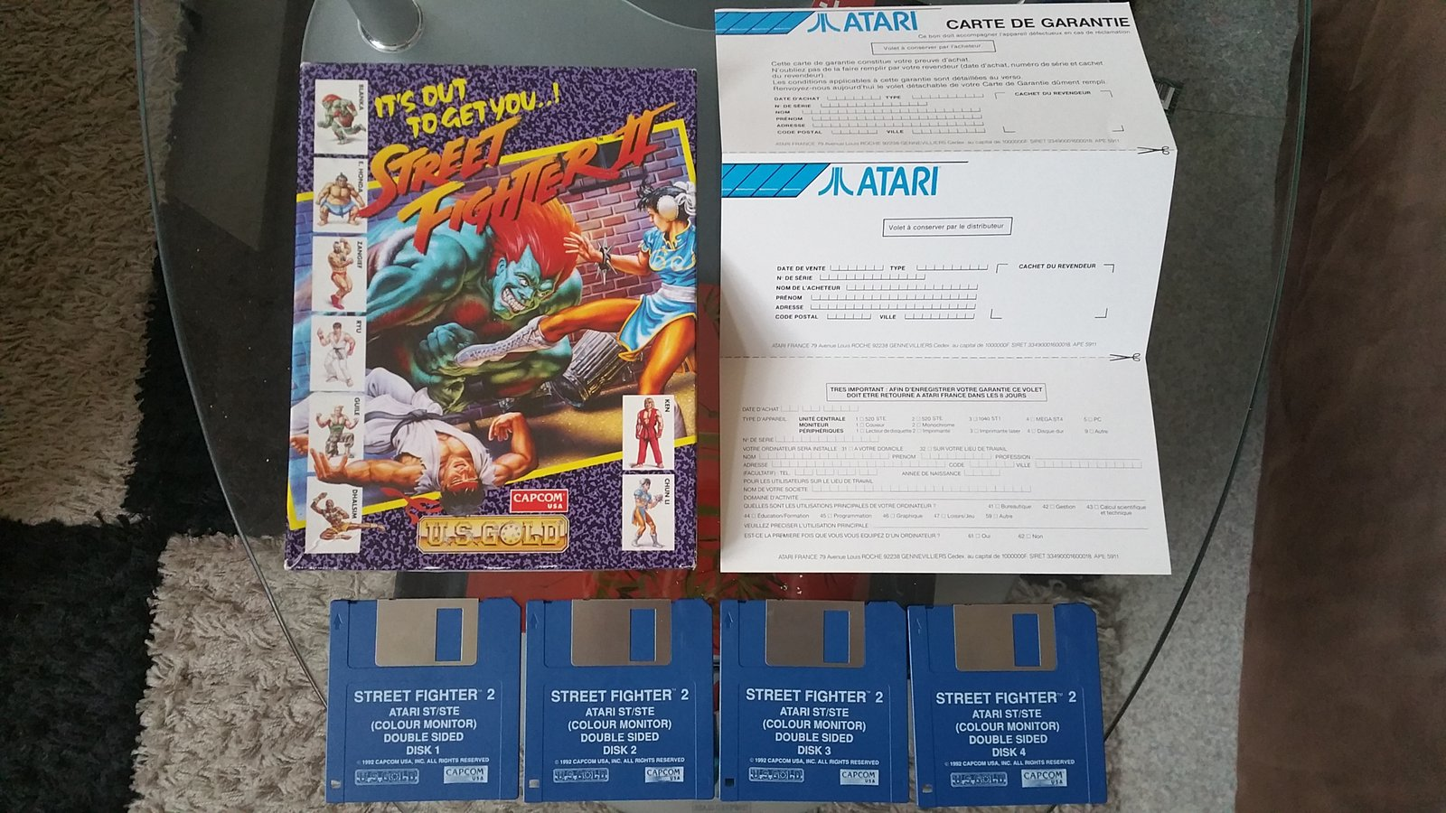 (EST) Street Fighter 2 - Atari ST 210514045925476655