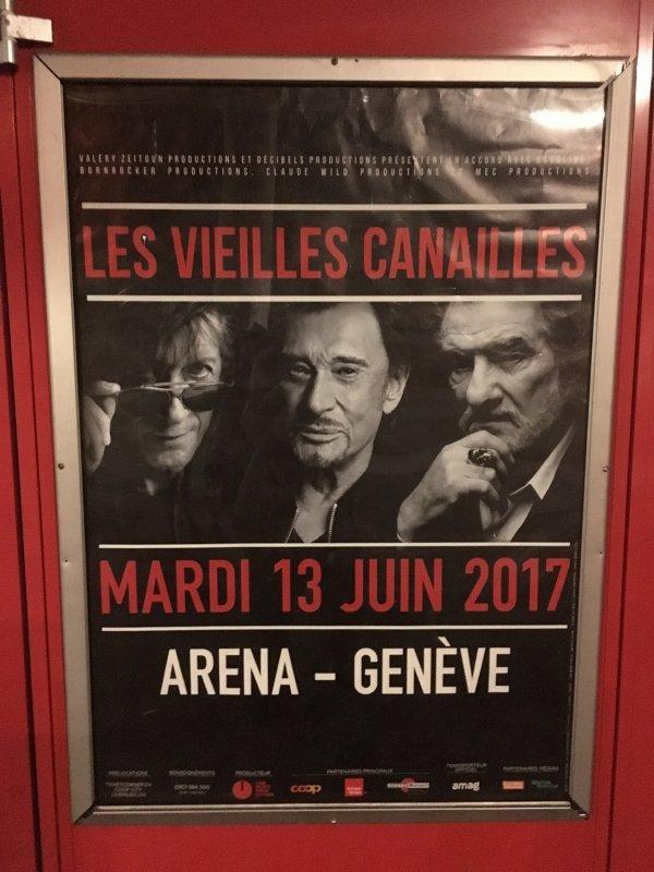 LES CONCERTS DE JOHNNY ' LES VIEILLES CANAILLES - GENEVE, SUISSE 2017' 210514072100297342