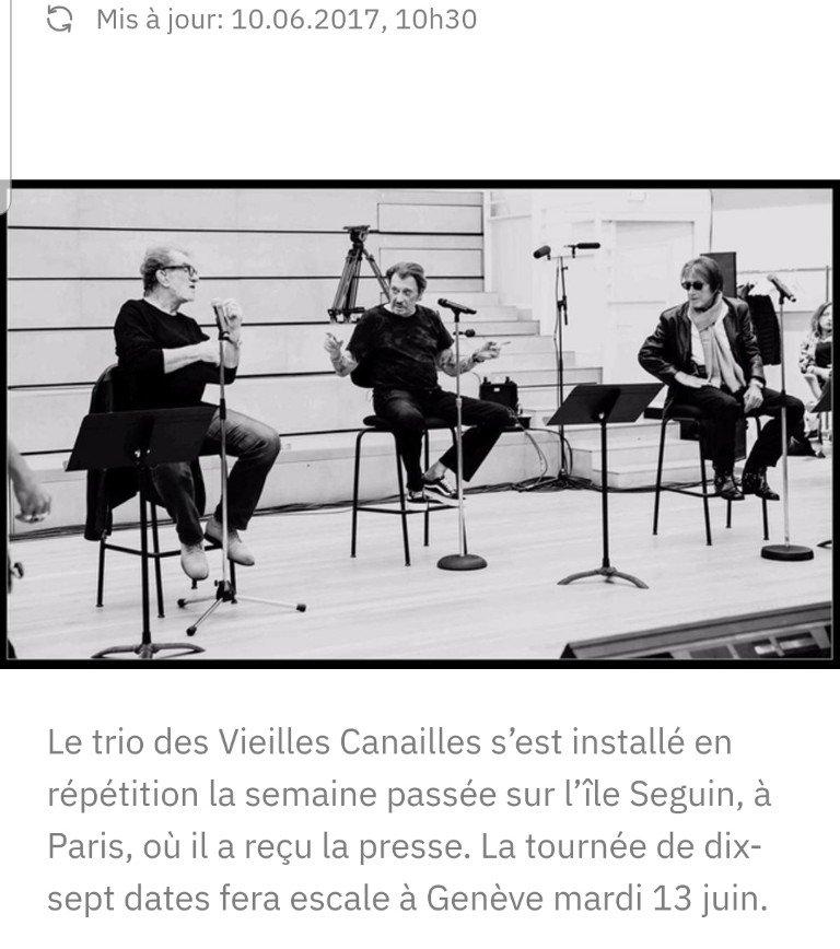 LES CONCERTS DE JOHNNY ' LES VIEILLES CANAILLES - GENEVE, SUISSE 2017' 210514072809482268