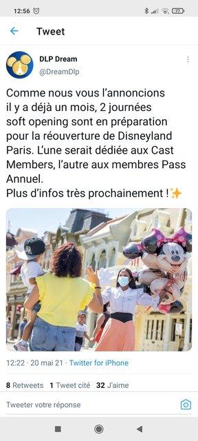La fermeture de Disneyland Paris pendant la 2ème vague de COVID-19 [2020-2021] - Page 37 210520011003555172