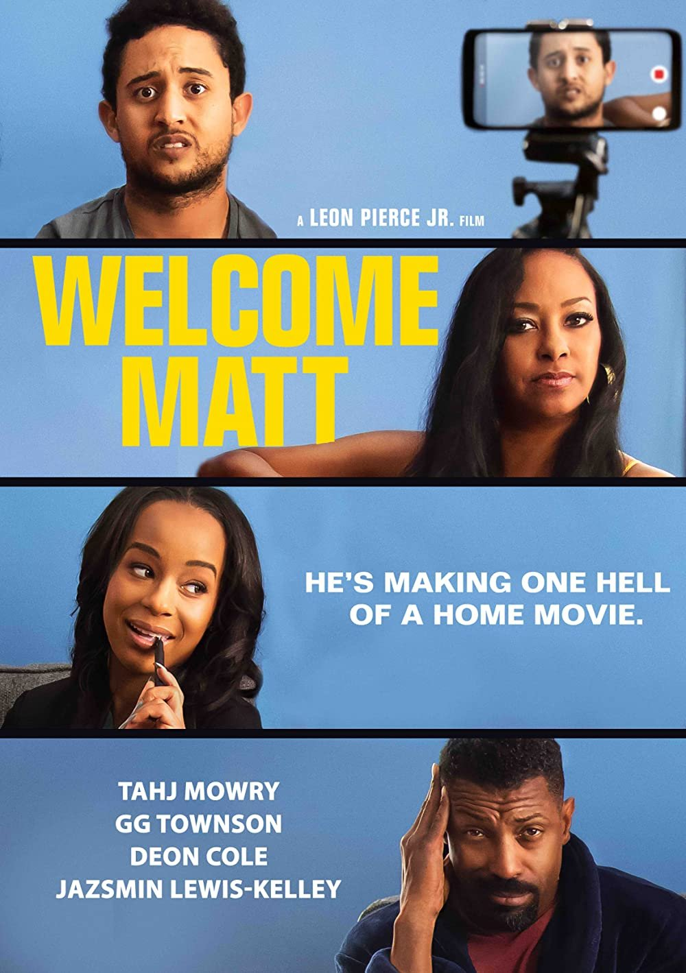 Welcome Matt poster image