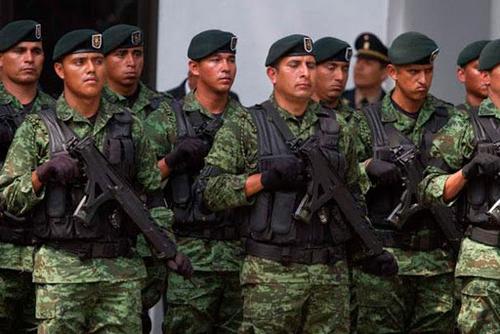 Soldats fédéraux.