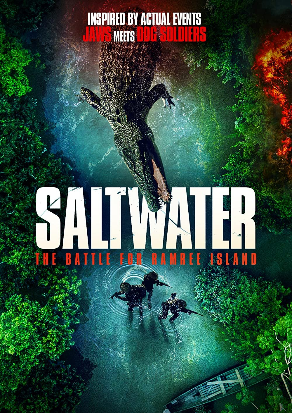 Saltwater: The Battle for Ramree Island poster image