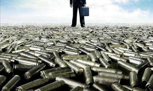 Vente internationale d'armements.