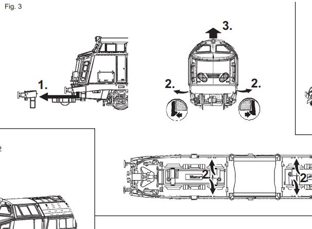 Demontage caisse Roco 68891 Serie 60 210604081346419183