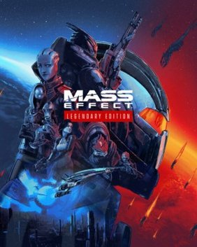 Poster for Mass Effect Legendary Edition