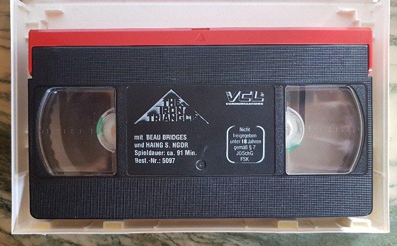 Pour la rubrique Vidéographie (VHS) du site  210608101732130307