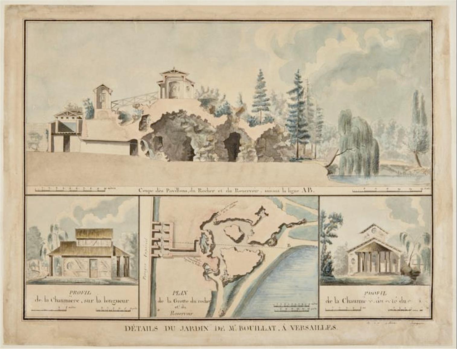 Le parc et le pavillon du comte de Provence et de la comtesse de Balbi à Versailles, aujourd'hui Parc Balbi 210608121734114230