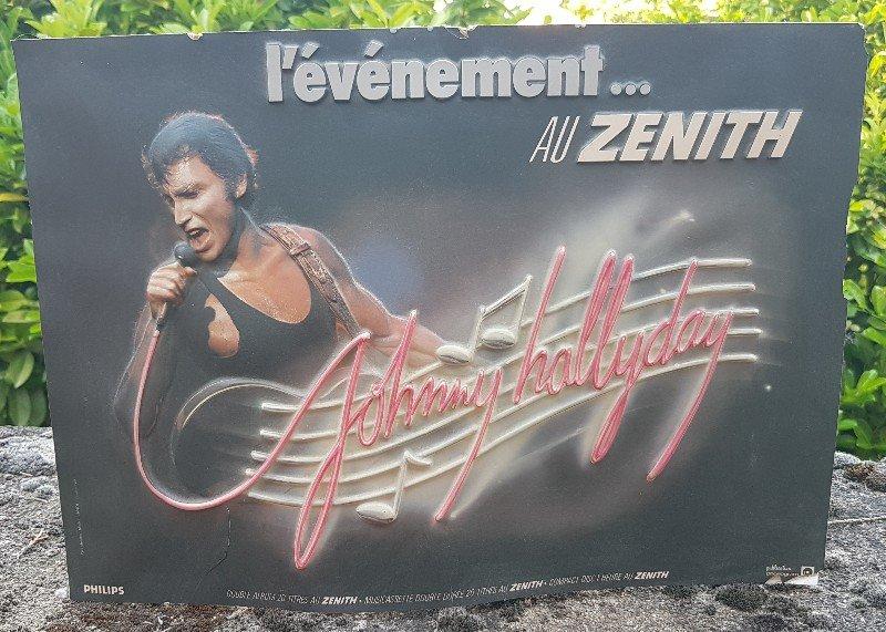 LES CONCERTS DE JOHNNY 'ZENITH 1985' ( JANVIER )( INEDIT ) 210609070339950644