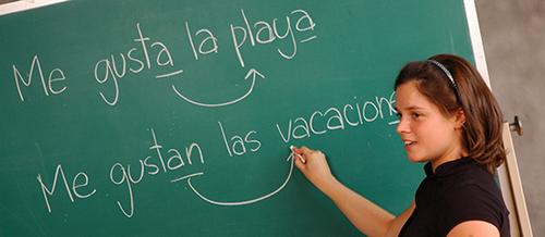 Développement de l'espagnol.
