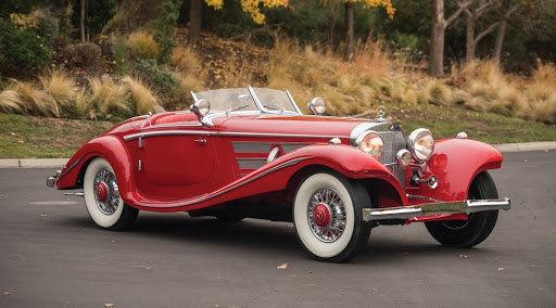 MERCEDES 540K roadster 1937 REVELL 1/24 210620072724651529