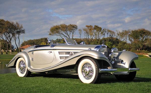 MERCEDES 540K roadster 1937 REVELL 1/24 210620072726759124
