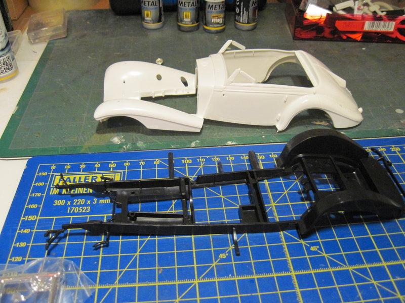 MERCEDES 540K roadster 1937 REVELL 1/24 210620072858668063