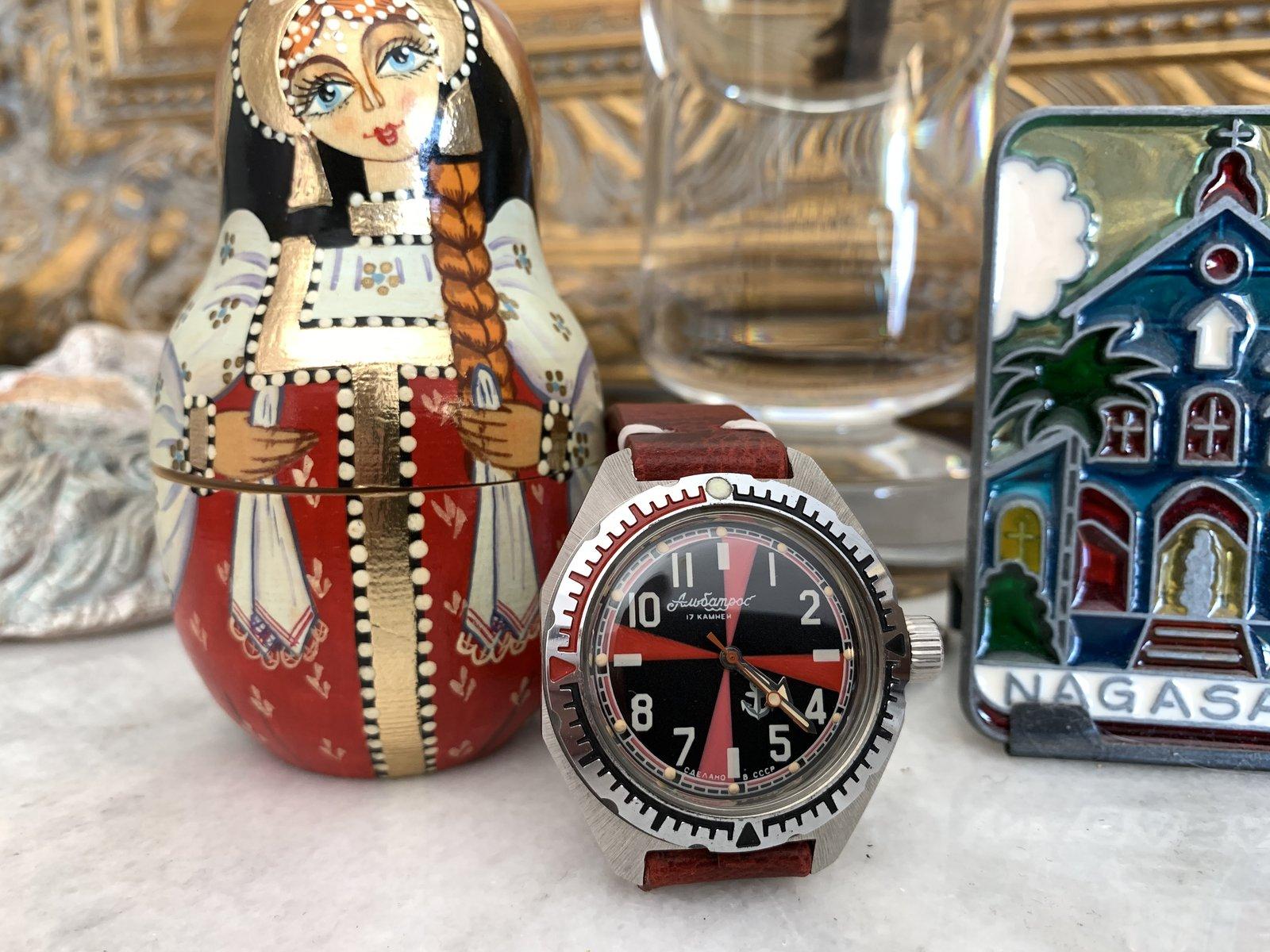 présentation Philippe, collectionneur de soviet watches 210622063650344347
