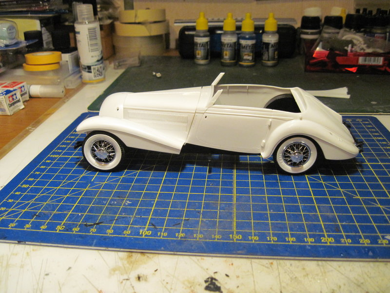 MERCEDES 540K roadster 1937 REVELL 1/24 210627071848554245