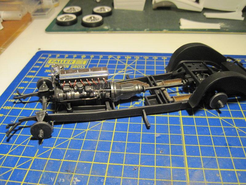 MERCEDES 540K roadster 1937 REVELL 1/24 210701062931803420