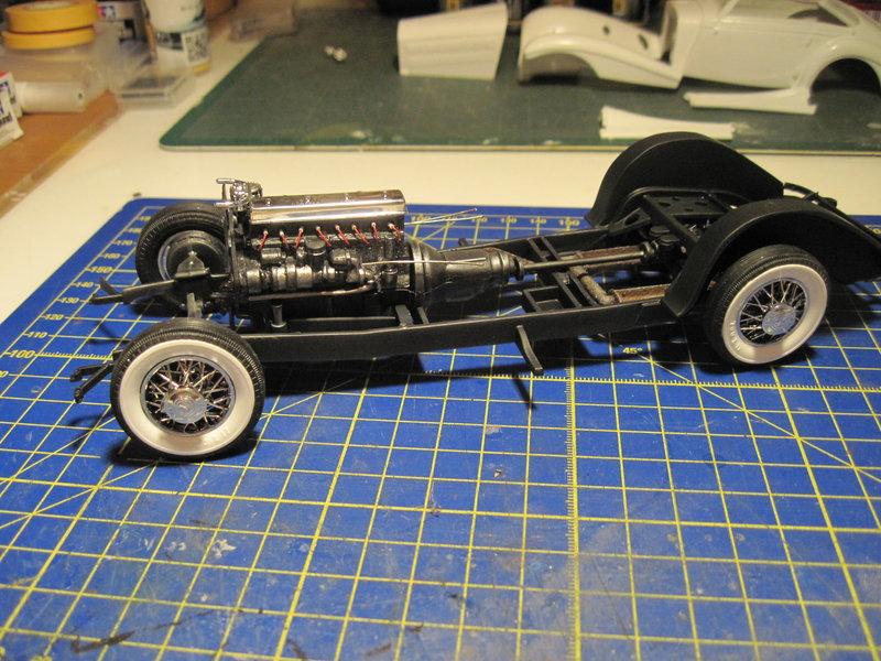 MERCEDES 540K roadster 1937 REVELL 1/24 21070106303050373