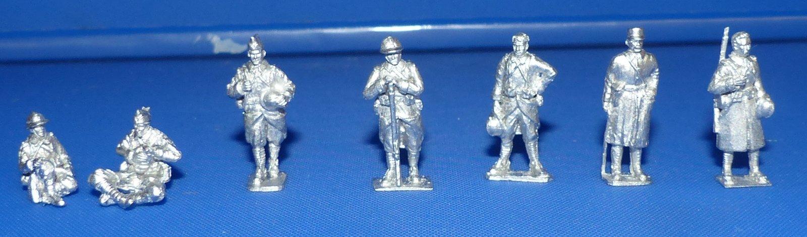 soldats français au repos, au travail  lesarméesoubliées 1/72 210706055125292092