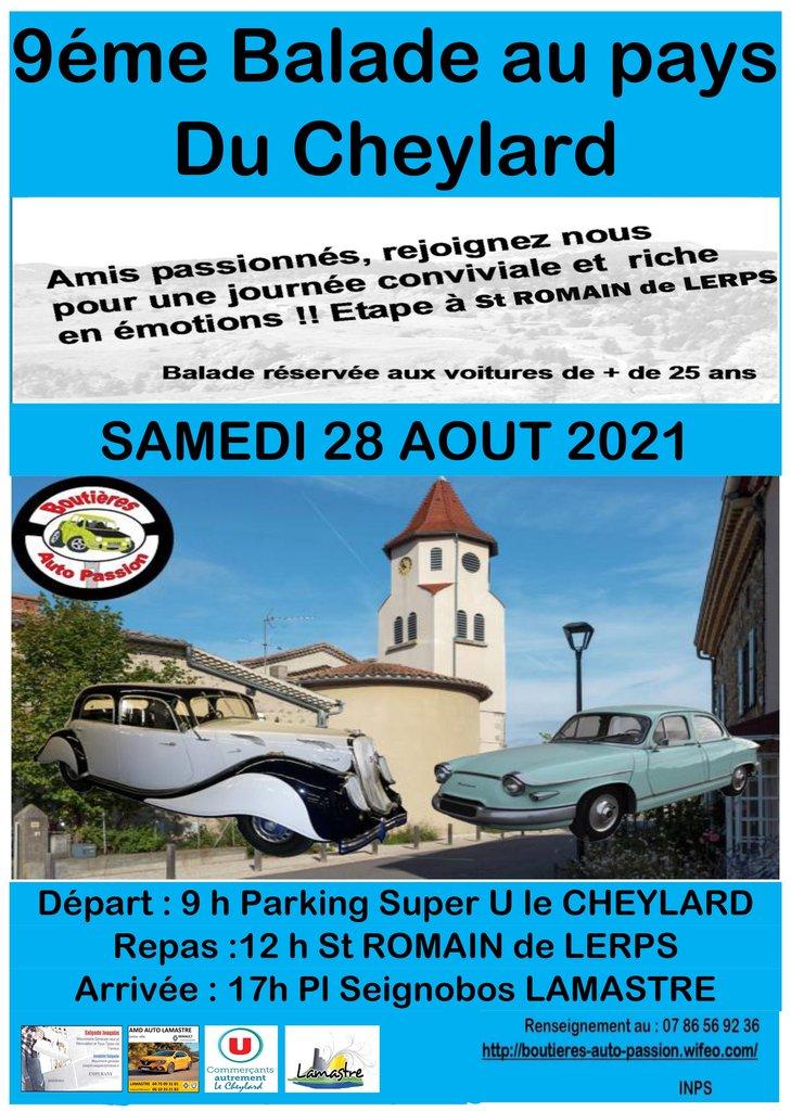 [07] 28/08/2021 - 9ème Balade au Pays du Cheylard 210709083334724753