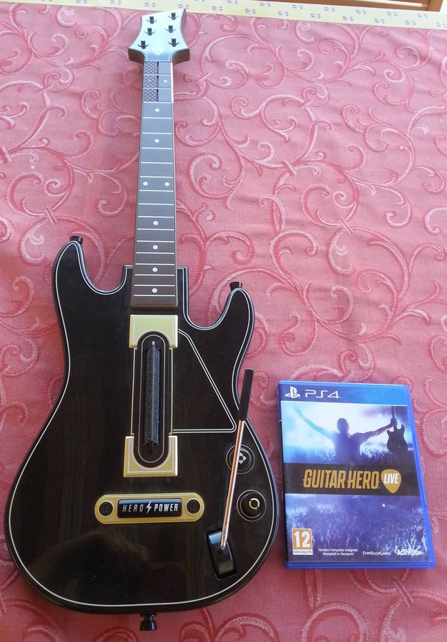 XBOX360 S, Guitar Hero PS4 210711105114105706