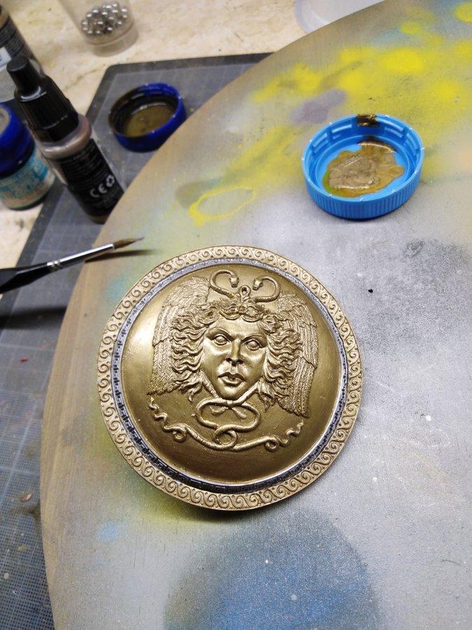 Perseus Fan Art Models 1/9 bouclier