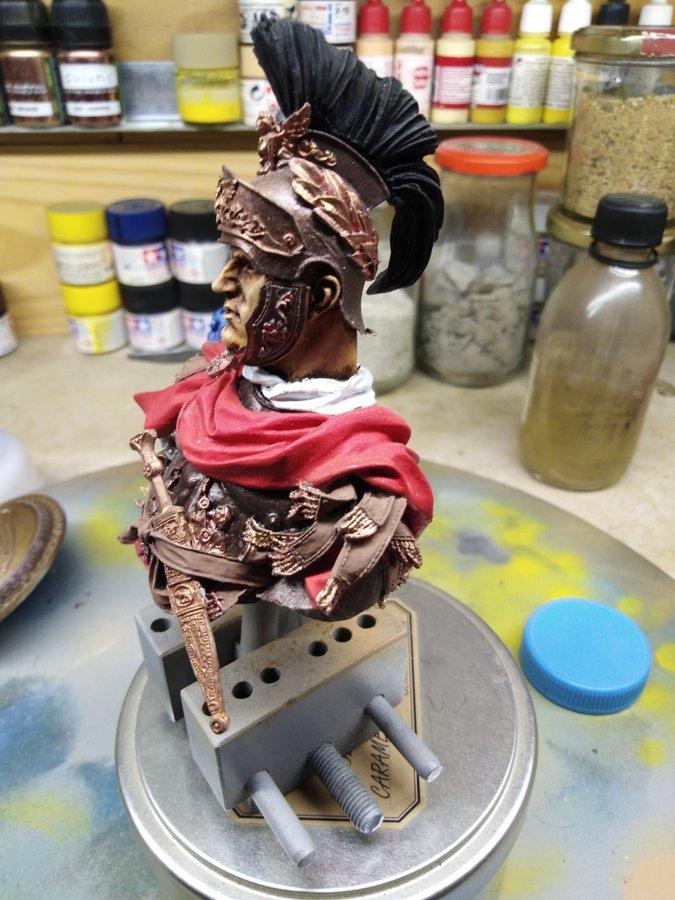 officier romain Young Miniature 1/10