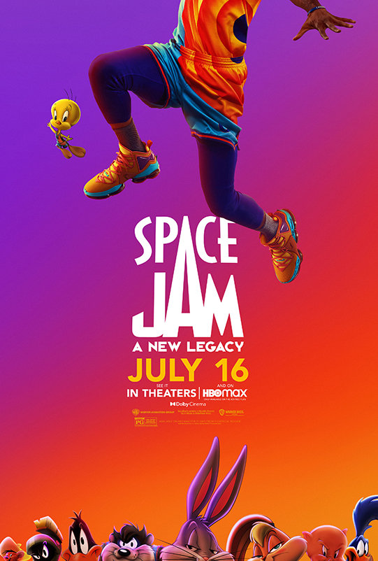 Space Jam: A New Legacy (2021) poster image