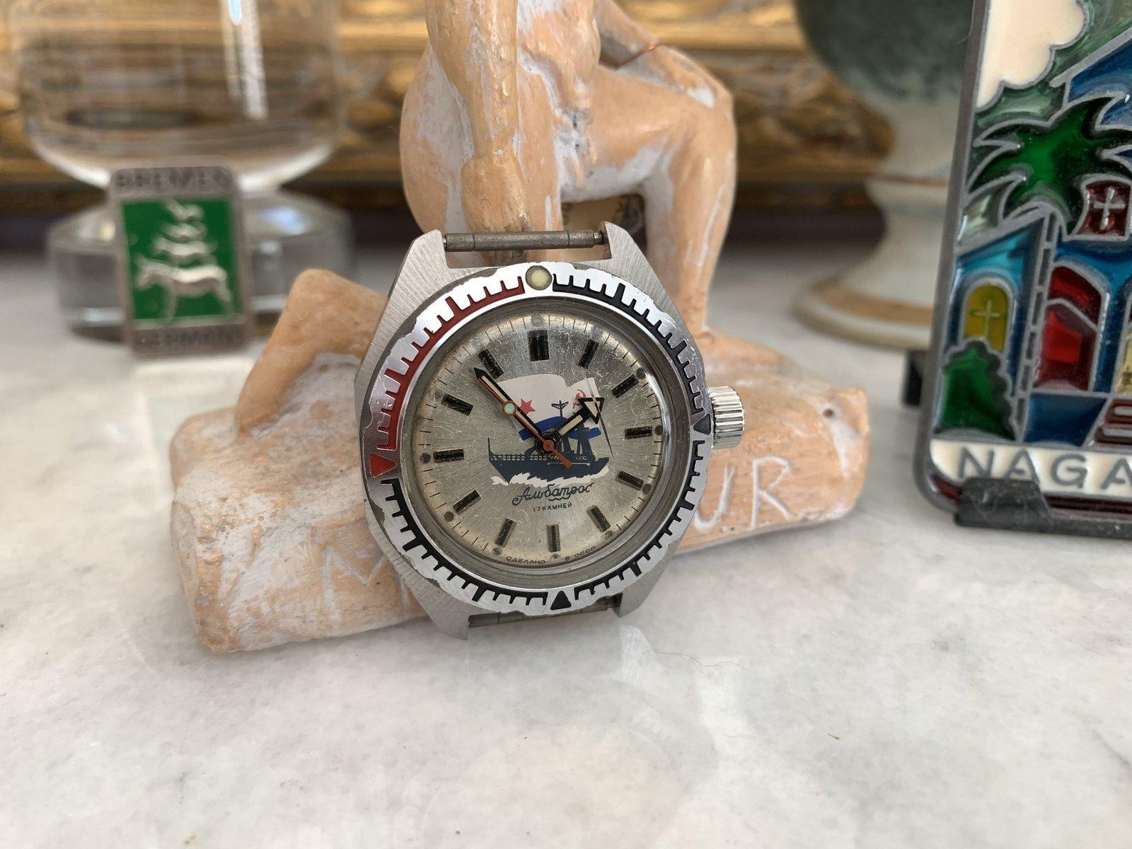 présentation Philippe, collectionneur de soviet watches 210717022931661887