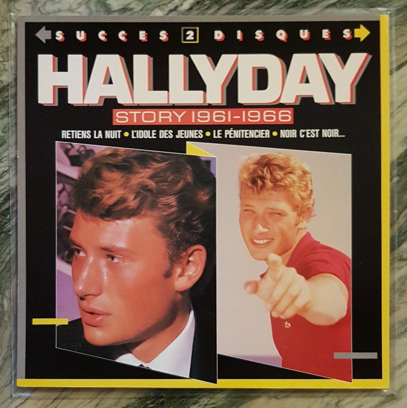 HALLYDAY STORY ( ALBUMS 2 DISQUES )( TOUTES LES EDITIONS )( 1973 - 1988 ) 210721091003245641