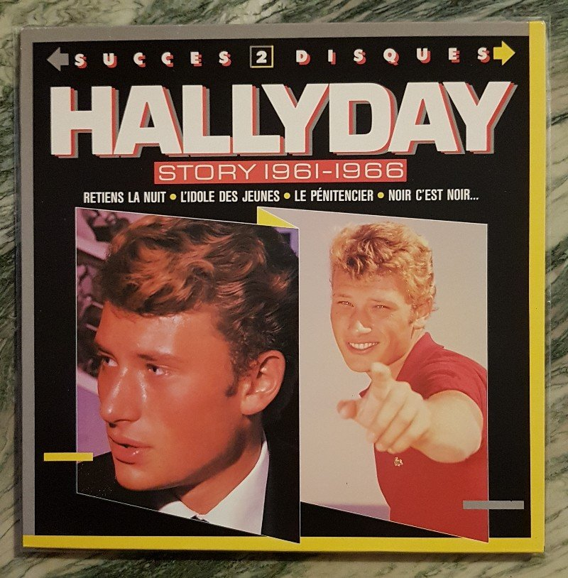 HALLYDAY STORY ( ALBUMS 2 DISQUES )( TOUTES LES EDITIONS )( 1973 - 1988 ) 210721091004398238