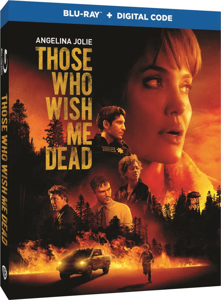 Those Who Wish Me Dead poster image