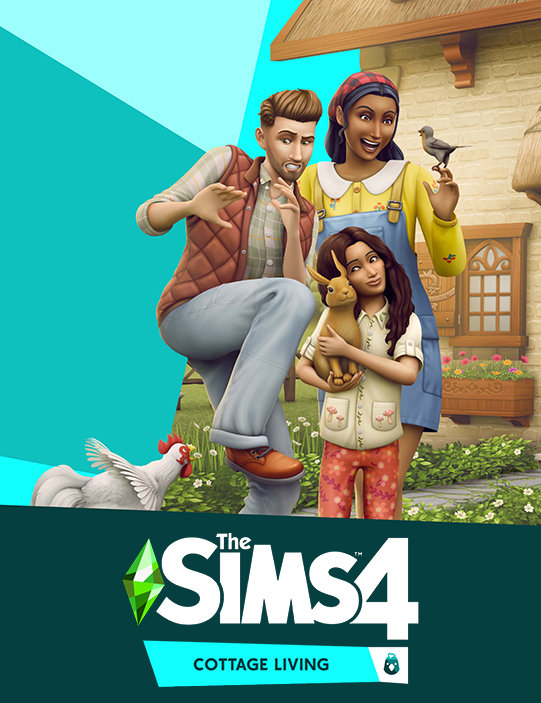Poster for The Sims 4: Cottage Living
