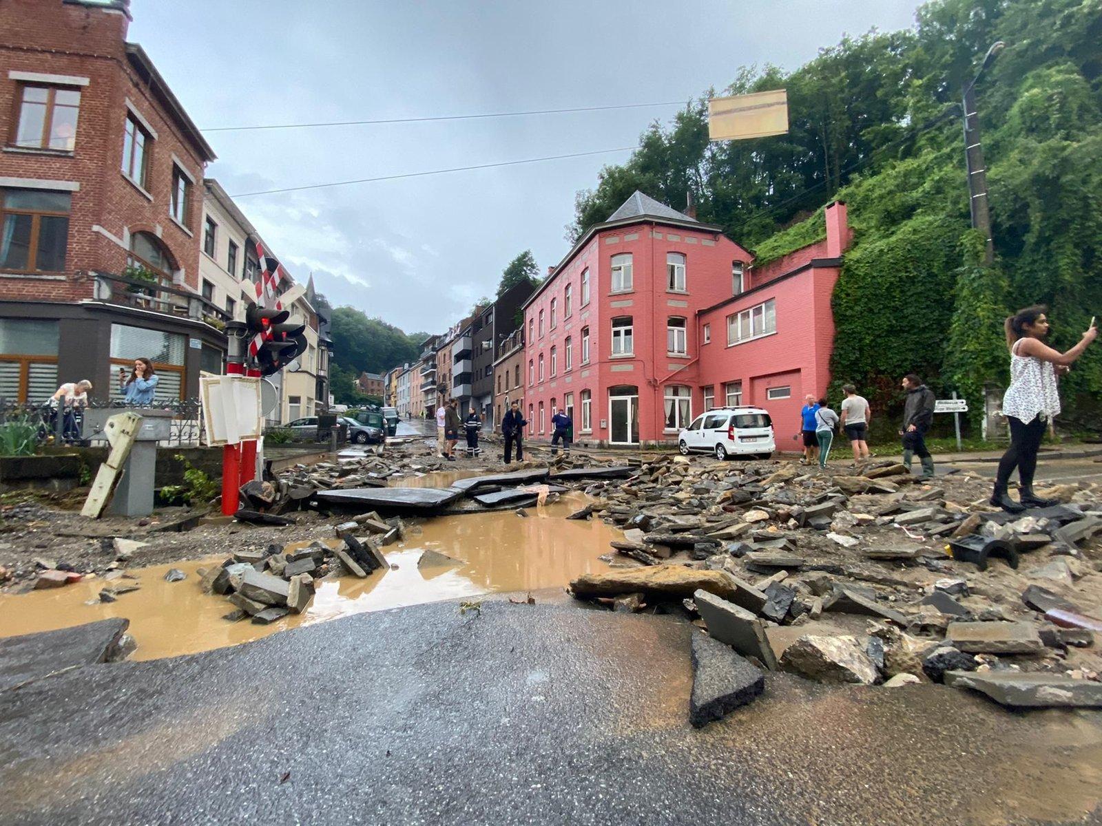 La Belgique sous les eaux les 14, 15 et 21 juillet 2021 210725110255197486